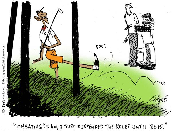 Henry Payne » Cartoon: Obama Golf Rules on games rules, love rules, fun required pool signs rules, boy rules, teen rules, sports rules, tattoo rules, british rules,