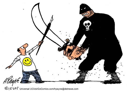 010714_ParisCartoonists_COLOR