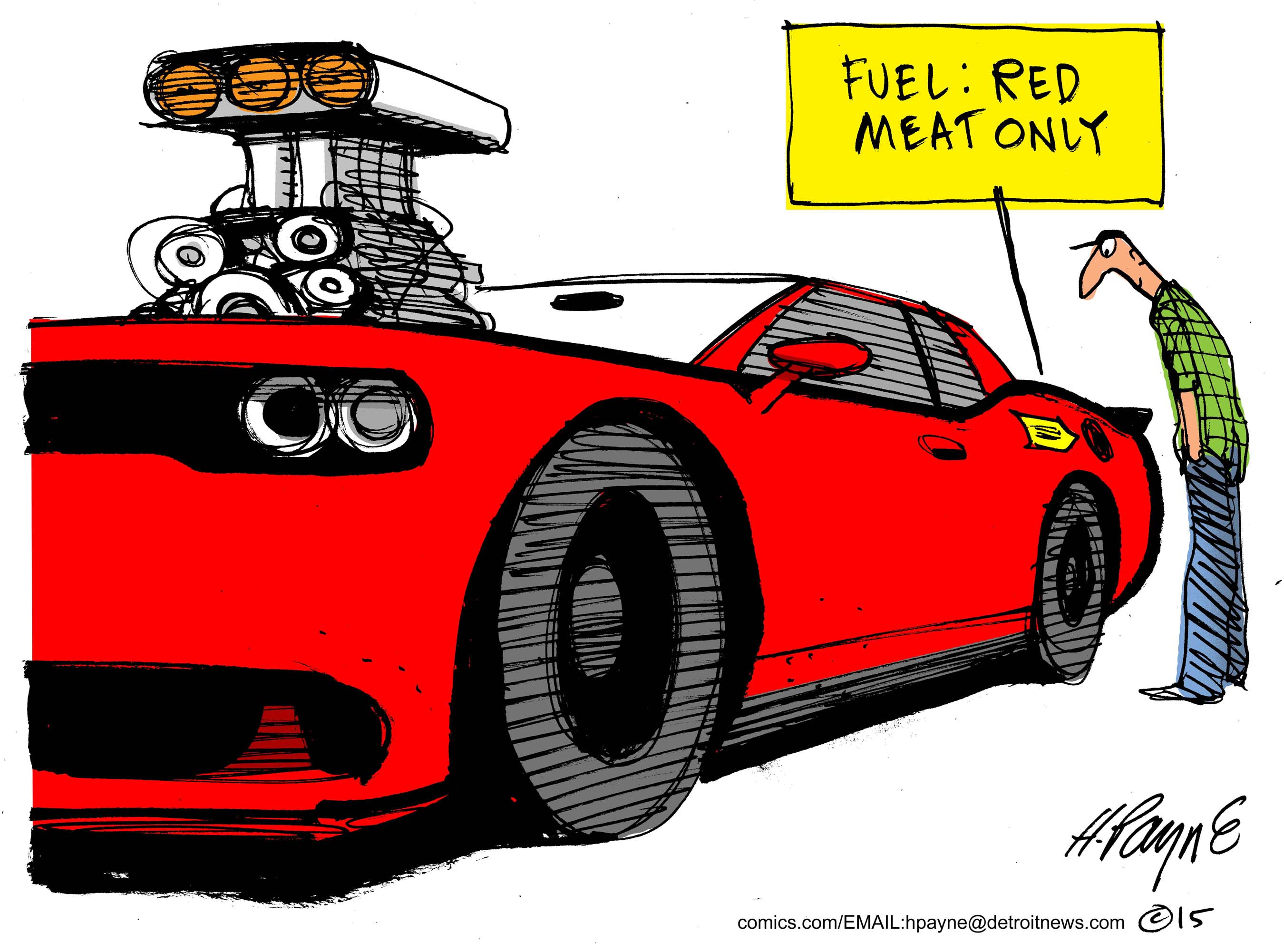Auction_CARtoon_DodgeRedMeat_COLOR