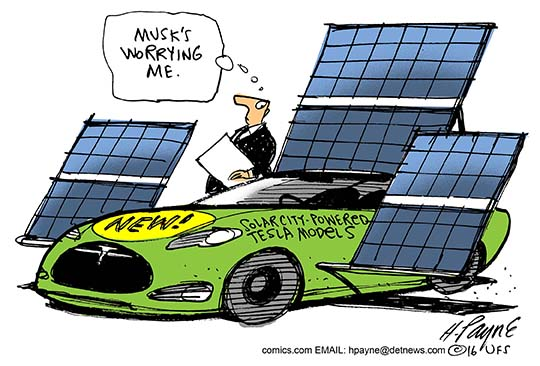 Image result for solarcity cartoon
